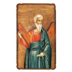 Szent András aranyozott szentkép