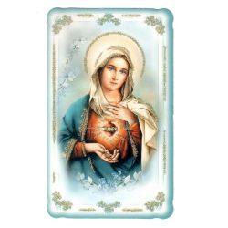 Mária szíve aranyozott szentkép