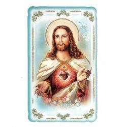 Jézus szíve aranyozott szentkép