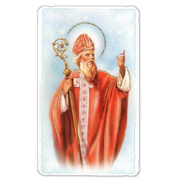 Szent Miklós aranyozott szentkép