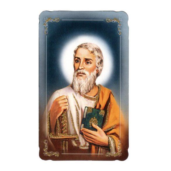 Szent Pál aranyozott szentkép