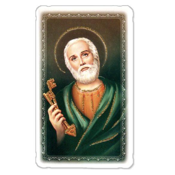 Szent Péter aranyozott szentkép