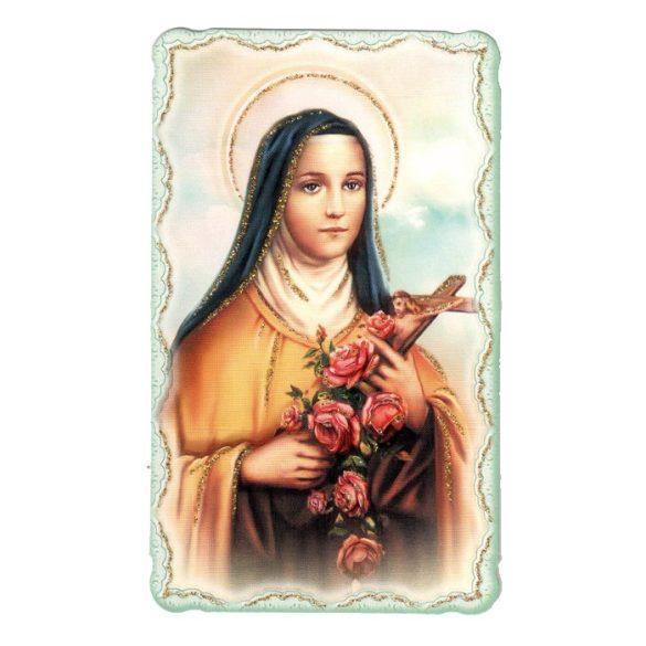 Szent Teréz aranyozott szentkép