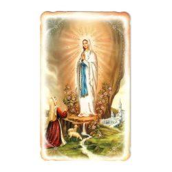 Lourdes-i Szüzanya aranyozott szentkép