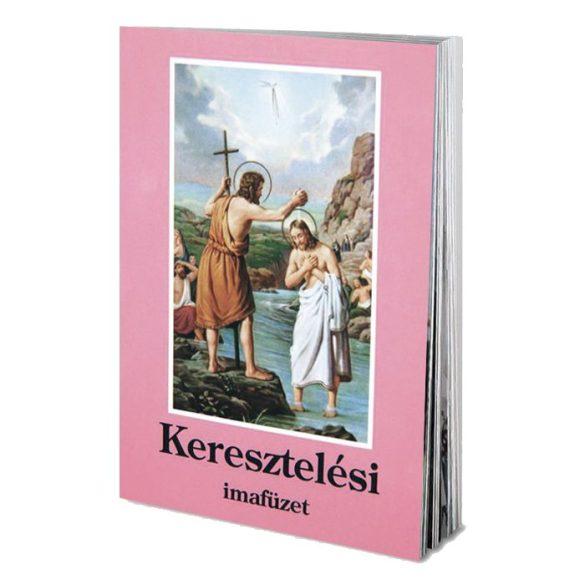 Keresztelési imafüzet
