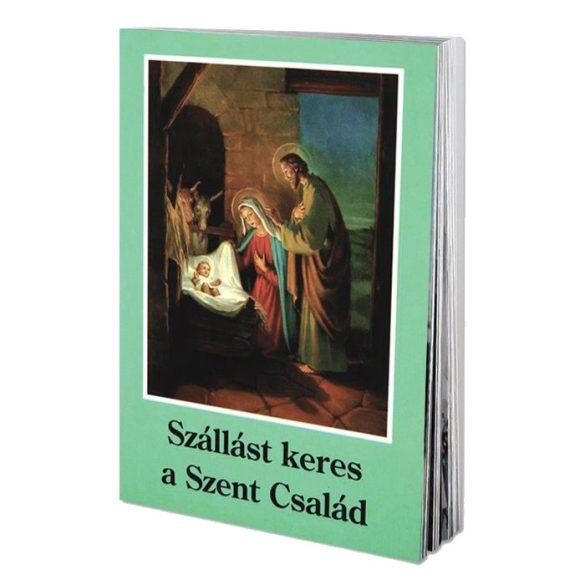 Szállást keres a Szent Család imafüzet