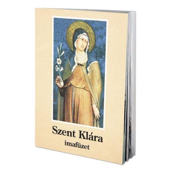 Szent Klára imafüzet