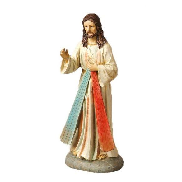 Irgalmas Jézus szobor 20 cm