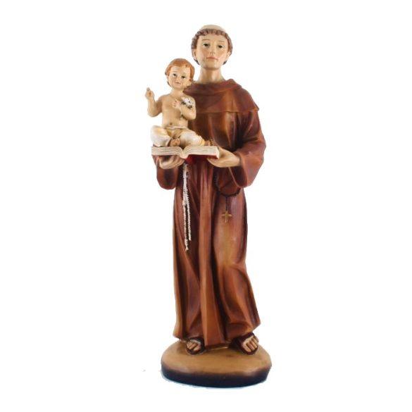 Szent Antal szobor 20 cm