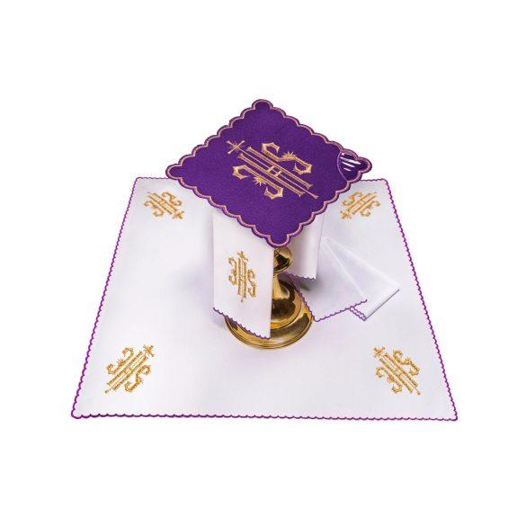 Miséző textil szett lila