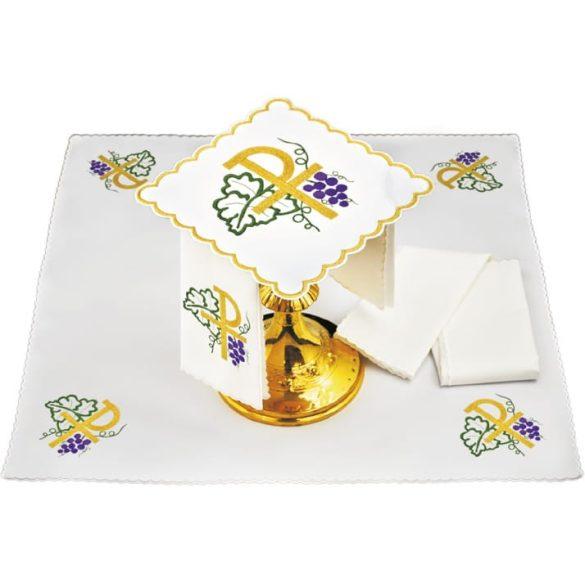 Miséző textil szett zöld