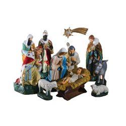 Betlehem szobor csoport 55cm