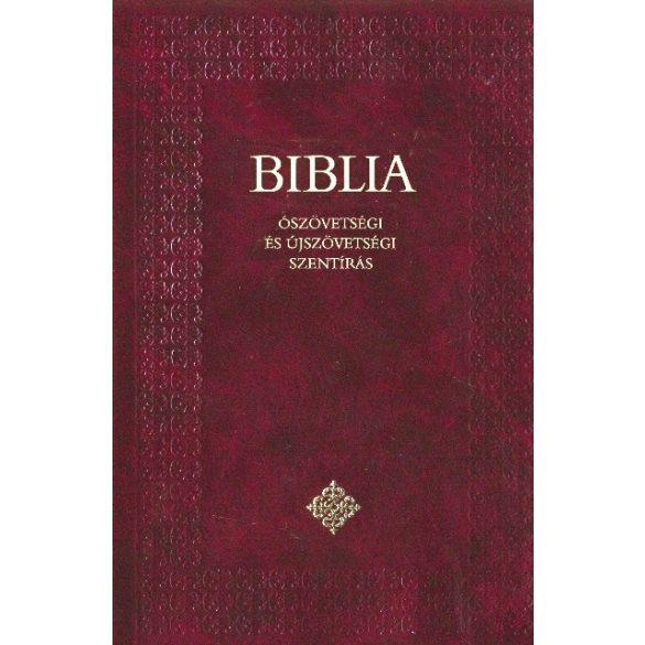 Diák Biblia - bordó/keménytáblás