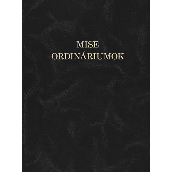 Mise -ordináriumok