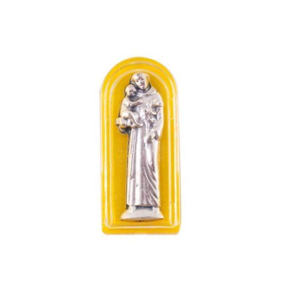 Szent Antal miniszobor tokban