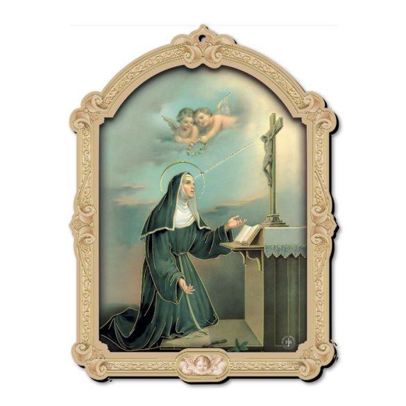 Fatimai Szüzanya faplakett