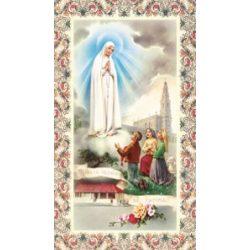Fatimai Szüzanya szentkép