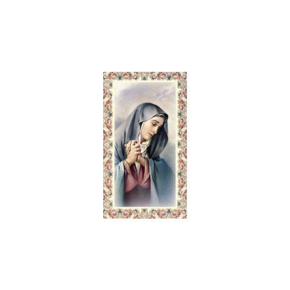 Szűz Mária szentkép