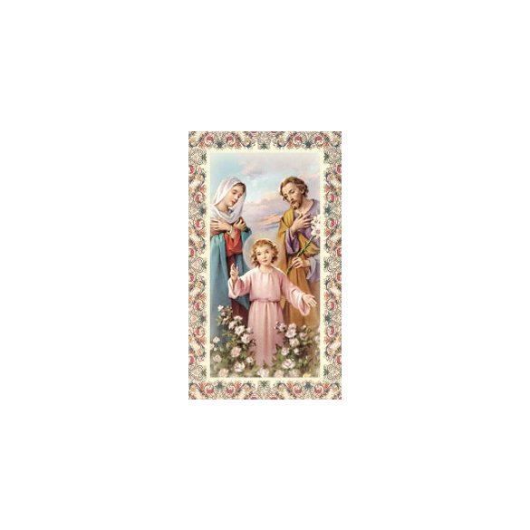 Szent Család szentkép