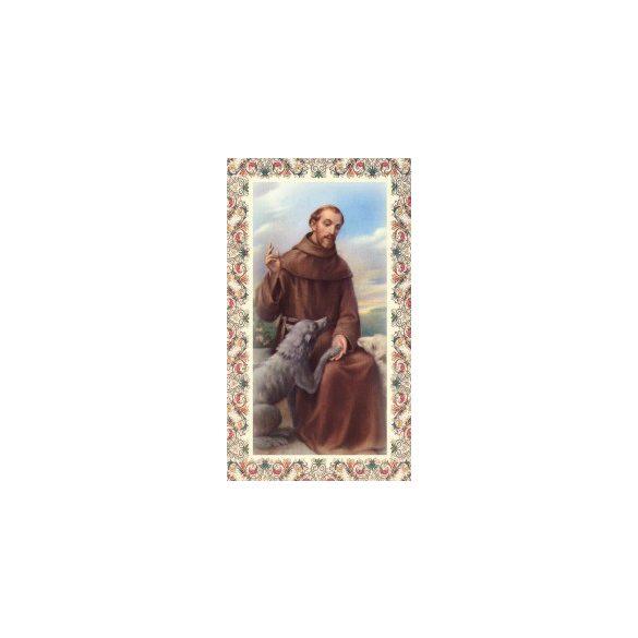 Szent Ferenc szentkép
