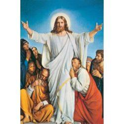 Feltámadt Jézus tanítványaival szentkép