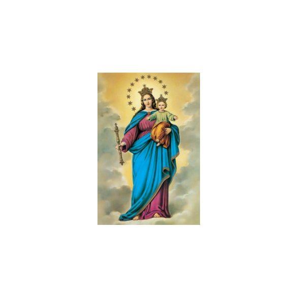 Világ királynéja a kis Jézussal szentkép