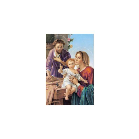 Szent József, a munkás szentkép