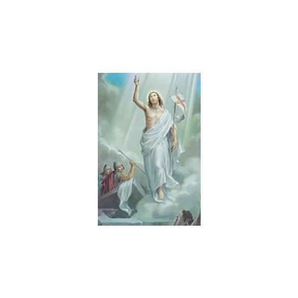 Jézus feltámadása szentkép