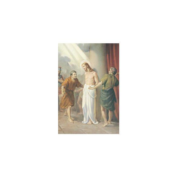 Jézus megosztorozása szentkép