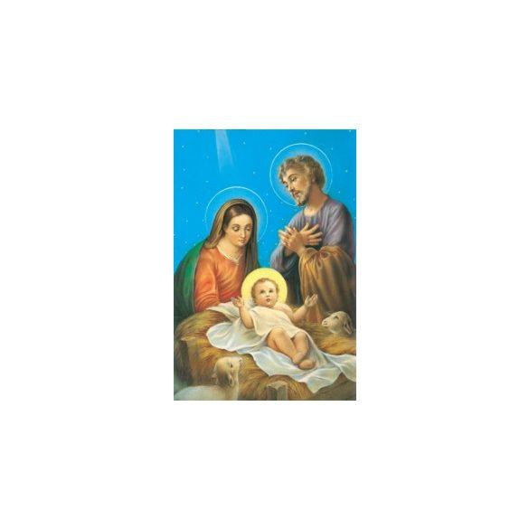 Szent Család karácsonyi szentkép