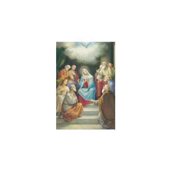 Szentlélek eljövetele szentkép