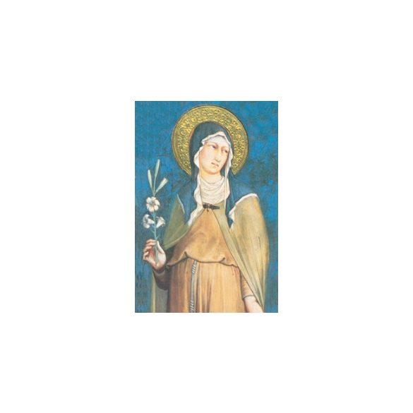 Szent Klára szentkép